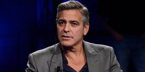 George Clooney. Photo / AP