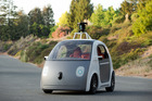 One of Google's prototypes takes itself for a spin.