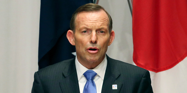 Australian Prime Minister Tony Abbott. Photo / Getty Images