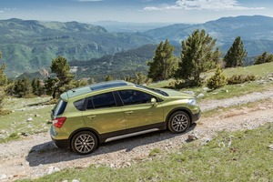 The Suzuki S-Cross. Photo / Supplied