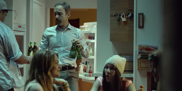 An incoming National Government would consider a review of alcohol advertising.