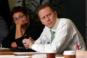 Greens co-leaders Metiria Turei and Russel Norman. Photo / Hagen Hopkins