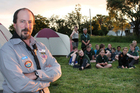 Kevin Randles has been involved with Scouts for more than 30 years.