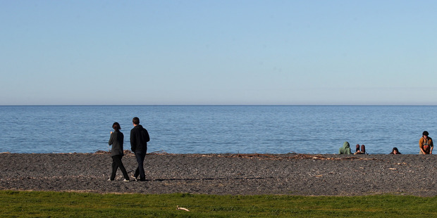 LOOKING BRIGHT: Napier recorded the highest temperature nationally for May.