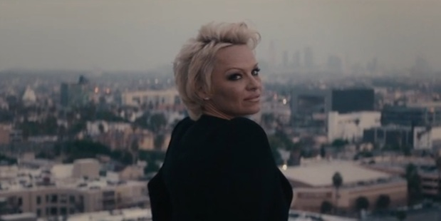 Pamela Anderson in Morrissey's Earth is the Loneliest Plant. Photo/YouTube.