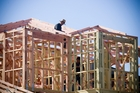 House building activity grew at its fastest pace in almost 12 years in the first quarter. Photo / Paul Estcourt