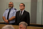 John Banks found guilty. Photo / Brett Phibbs