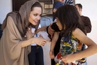 Angelina Jolie says her passion is writing and humanitarian work. Photo / AP