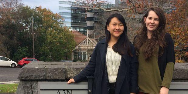 Cherry Li, 21, and Imogene Gibson, 19, helped found Synergy in November last year.