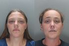 Hayley Sulley, 30, and Della Woods, 29, were sentenced for their dog eating their elderly neighbour alive. Photo / UK Police