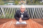 Graphic designer Iain Spanhake left Auckland and moved to Mangonui to work from home. Photo / Clive Crombie