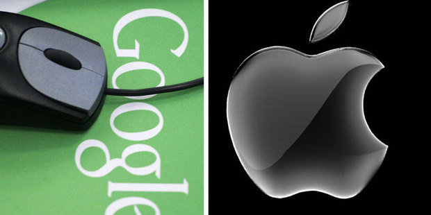 Apple is ramping up efforts to keep programmers from switching loyalties to Google and others. Photo / AFP