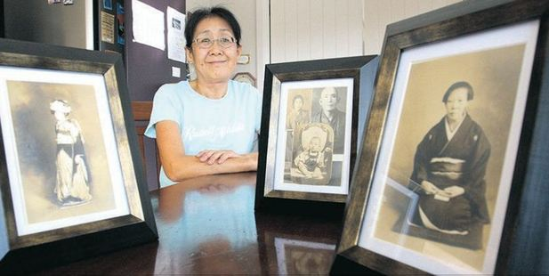 Shigeko Kurihara's family had lived in Shiminoseki, Japan, for more than 500 years before her family migrated to New Zealand 30 years ago. PHOTO/RUTH KEBER