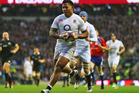 Manu Tuilagi proved to be a handful for the All Blacks two years ago. Photo / Getty Images