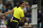 Valerie Adams made it 48 consecutive wins, taking first place comfortably in the Diamond League shot put in Rome this morning. Photo / Getty Images.