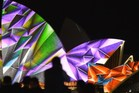 A 'Vivid' light show at the Sydney Opera House. Photo / AFP