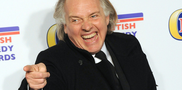 Rik Mayall has died at the age of 56 after suffering 'a seizure of some sort'. Photo/Getty