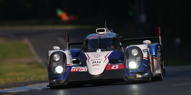 Toyota have claimed pole position for the Le Mans 24-Hour race this weekend ahead of Porsche and Audi. Photo / Supplied