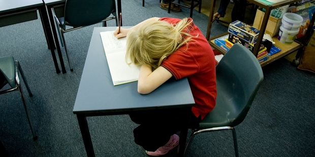 Students who come to school underfed lack the energy for concentration in the classroom.