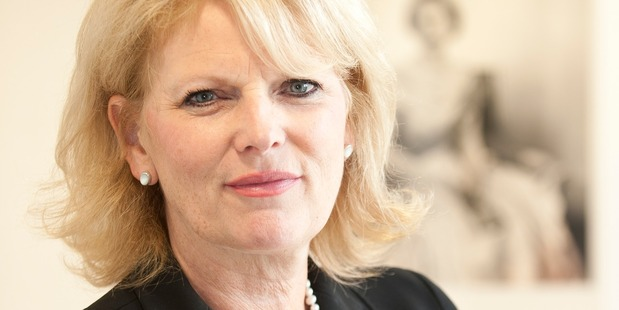 Anna Soubry, British Defence Minister and brawl breaker-upper. Photo / Defence Ministry