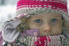 If possible, children should always wear warm clothes in winter. Photo / Thinkstock