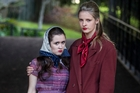 Devon Webb (left) and Claudia Nixon have had to learn to
