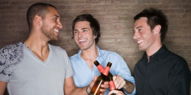 There are certain issues of men's health that young guys need to start talking about, and it helps to have buddies you can chat to. Photo / Thinkstock