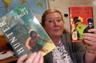 AMNESTY: Wairarapa College teacher Katherine Cronin is calling for a community-wide amnesty on outstanding college textbooks. PHOTO/LYNDA FERINGA