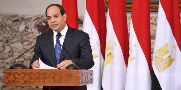President elect Abdel Fattah al-Sisi. Photo / AFP