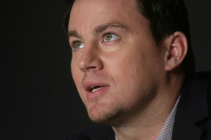 Channing Tatum says he was drunk when he agreed to appear in a cameo role in This Is the End. Photo/AP