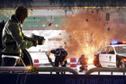 A scene from Battlefield: Hardline, unveiled at E3. Photo/AP