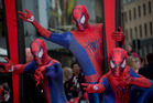 The Pentagon has successfully tested Spiderman-like climbing equipment. Photo / File / AP