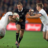 All Blacks Aaron Cruden in action against England, during the 2nd test match of the Steinlager Series between the All Blacks and England, held at Forsyth Barr Stadium, Saturday. Photo / Brett Phibbs