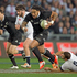 All Blacks Ma'a Nonu in action against England, during the 2nd test match of the Steinlager Series between the All Blacks and England, held at Forsyth Barr Stadium, Saturday. Photo / Brett Phibbs