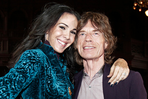 Mick Jagger was said to be devastated by L'Wren Scott's death. Photo/AP