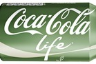 The new stevia sweetened Coca-Cola Life will be released in the UK. Photo / Coca-Cola