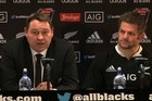 Watch highlights of the All Blacks and England post match press conference with All Black skipper Richie McCaw, coach Steve Hansen, and England head coach Stuart Lancaster.