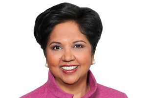 PepsiCo, has a female chief executive Indra Nooyi (pictured) and five women on its 13-member board. Photo / PepsiCo