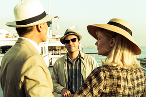 Viggo Mortensen, Oscar Isaac and Kirsten Dunst in The Two Faces of January.