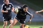 060614bf6 Black Ferns v Australia at the Rotorua International Stadium 6 June 2014 Rotorua Daily Post Photograph by Ben Fraser
