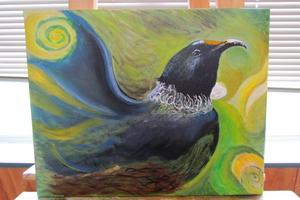 Prisoner Art: Tui , Whanganui Prison. Photo / Department of Corrections