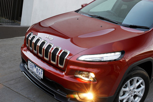 "The front grille of the Jeep Cherokee ""polarises"" customers, says designer Greg Howell."