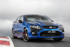 Ford has revealed the last ever FPV Falcon the FPV MKII FPV GTF 351. Photo / Supplied