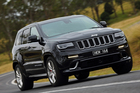 Clever engineering means the Jeep Grand Cherokee SRT8 feels like a much smaller vehicle out on the open road.