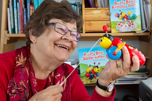 Children's author Joy Cowley. Photo / Mark Mitchell