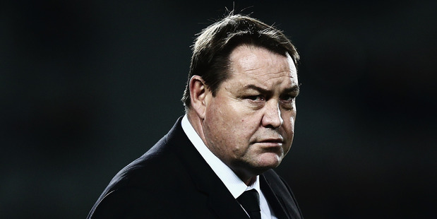 All Blacks coach Steve Hansen. Photo / Getty Images.