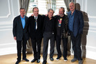 The surviving members of Monty Python: Michael Palin, Eric Idle, Terry Jones, Terry Gilliam and John Cleese. Photo / AP