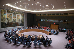 The U.N. Security Council. File photo / AP
