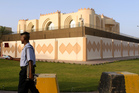 The Taliban office in Doha. Photo / AP