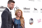 Gerard Pique and Shakira. Photo / AP